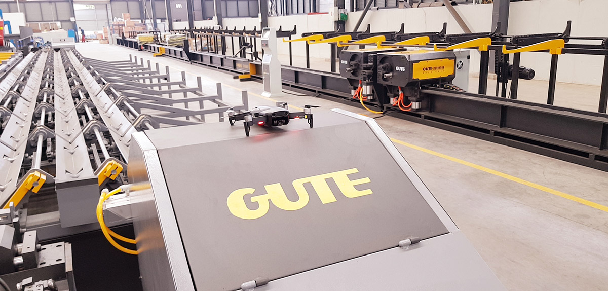 Завод Gute machinery в Китае фото 6
